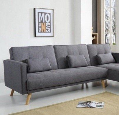 bobochic ecksofa helly mit bettfunktion und chaise lounge f r 401 99. Black Bedroom Furniture Sets. Home Design Ideas