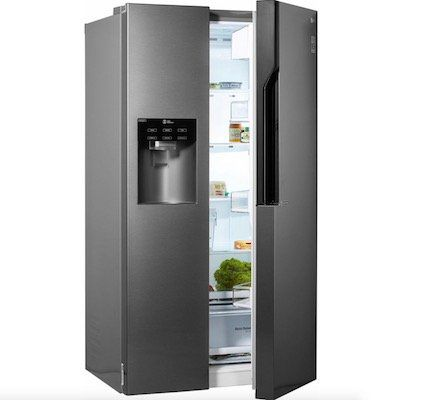 lg gsl 360 icez amerikanischer side by side k hlschrank mit wasserspender f r 899. Black Bedroom Furniture Sets. Home Design Ideas