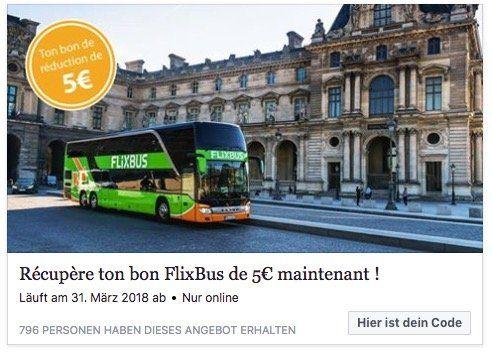 Flixbus gutschein app