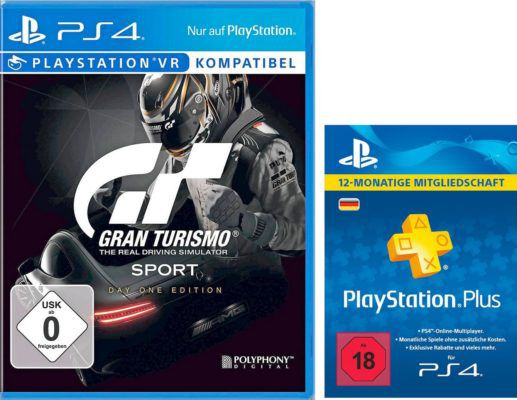 gran turismo sport day 1 edition vr ps4 playstation. Black Bedroom Furniture Sets. Home Design Ideas