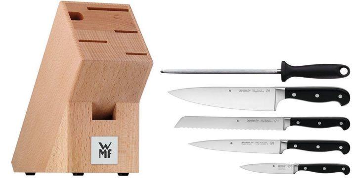 wmf spitzenklasse plus 6 tlg messerblock f r 99 statt 120. Black Bedroom Furniture Sets. Home Design Ideas
