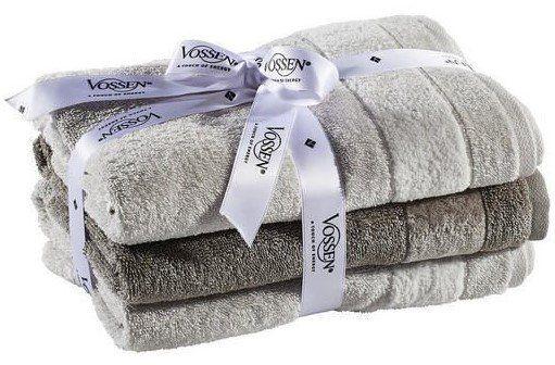 vossen frottier 3er handtuch set in vielen farben f r je 14 95 statt 30. Black Bedroom Furniture Sets. Home Design Ideas