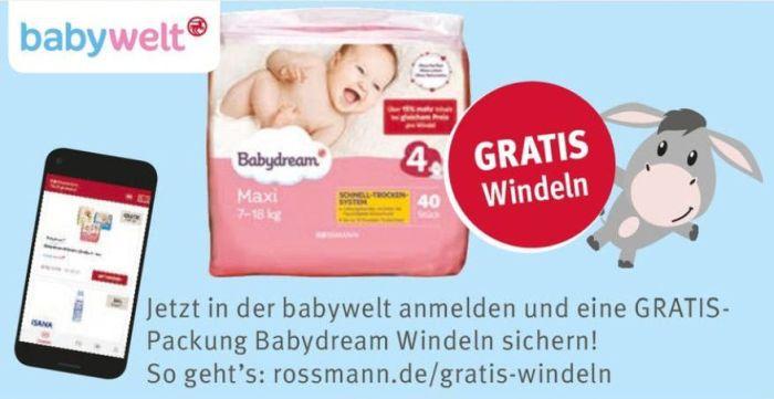 Rossmann Gratis Windeln