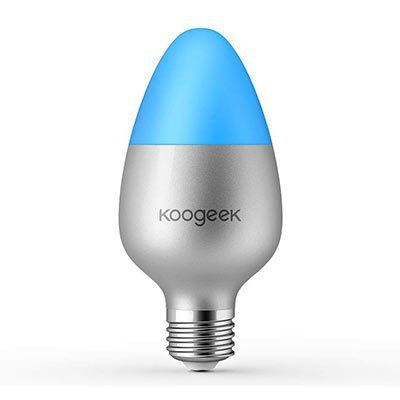 koogeek wifi led gl hbirne mit app anbindung f r 19 99 statt 36. Black Bedroom Furniture Sets. Home Design Ideas