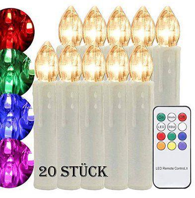 40 rabatt auf verschiedene led weihnachtsbeleuchtung kerzen mit fernbedienung ab 7 79 prime - Led weihnachtsbeleuchtung mit fernbedienung ...