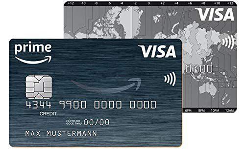 auf amazon visa karte überweisen