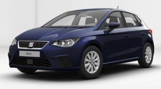 seat ibiza style 1 0 privat leasing f r 127 54 mtl. Black Bedroom Furniture Sets. Home Design Ideas