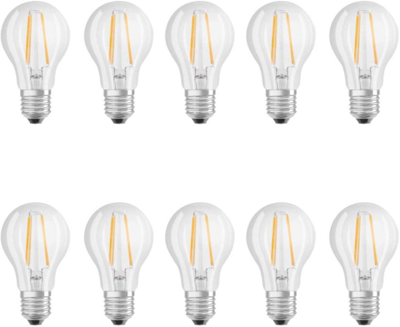 osram filament led e 27 birnen 7w im 10er pack f r 25 95 statt 33. Black Bedroom Furniture Sets. Home Design Ideas