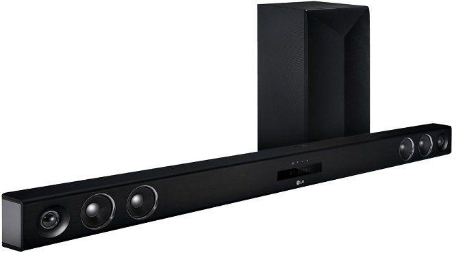 lg las655k smart soundbar in schwarz f r 179 statt 354. Black Bedroom Furniture Sets. Home Design Ideas