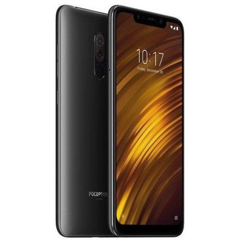 xiaomi pocophone f1 6 18 zoll smartphone mit 128gb lte. Black Bedroom Furniture Sets. Home Design Ideas