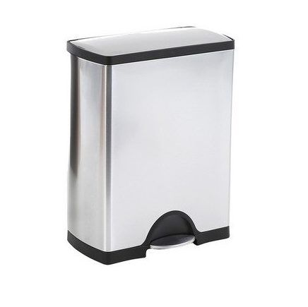 simplehuman recycler tretm lleimer mit 46 liter volumen f r 117 90 statt 272. Black Bedroom Furniture Sets. Home Design Ideas