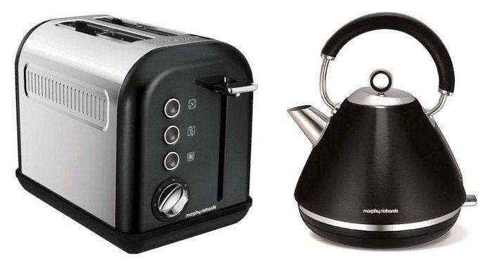morphy richards wasserkocher und toaster f r 55 statt 94. Black Bedroom Furniture Sets. Home Design Ideas