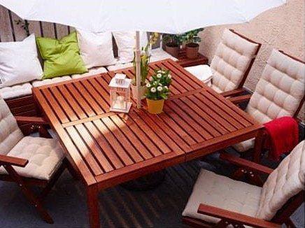 ikea pplar tisch 140 x 140cm f r 99 statt 149. Black Bedroom Furniture Sets. Home Design Ideas