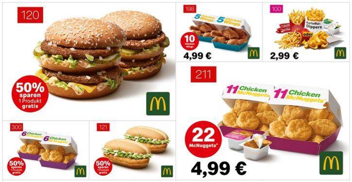 mcdonalds gutscheine 2021 teilnehmende restaurants