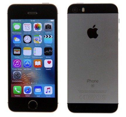 apple iphone se 32gb als gebrauchtware f r 79 90. Black Bedroom Furniture Sets. Home Design Ideas
