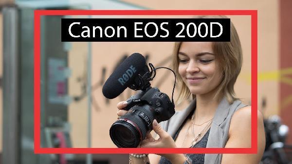 canon eos 200d 24mp dsl kamera mit wlan u touchscreen f r 440 95 statt 479. Black Bedroom Furniture Sets. Home Design Ideas