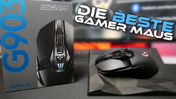 LOGITECH G903 LIGHTSPEED Wireless Gaming Maus für 90€ (statt 125€)