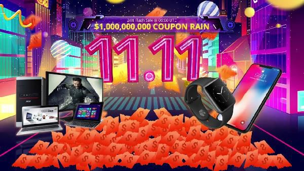 Mega Sale am Singles Day in China   viele Top Angebote bei Gearbest und Co.