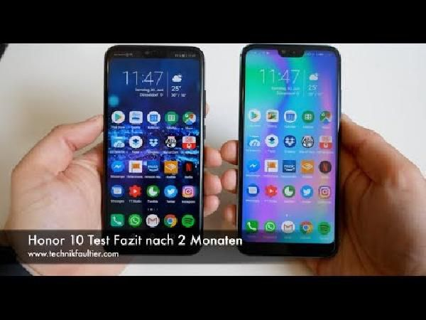 Honor 10   5,8 Zoll Dual Sim Smartphone in Phantom Green mit 64 GB ab 259,47€ (statt 309€)