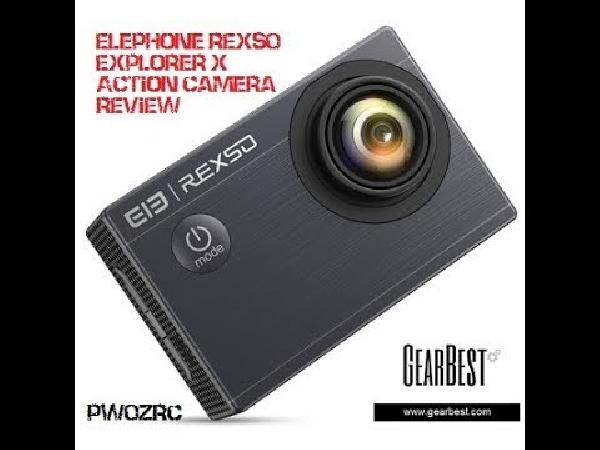 Elephone Rexso Explorer X Action Camera für 32,33€