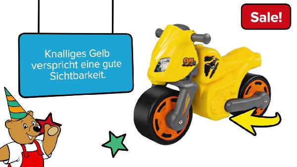 BIG Speed Bike ab 23€ (statt 31€)