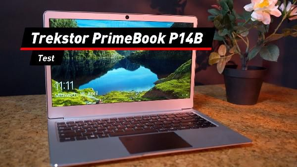 Saturn Late Night Aktion: günstige Notebooks und Wearables – z.B. TREKSTOR Primebook P14 Notebook (statt 331€)