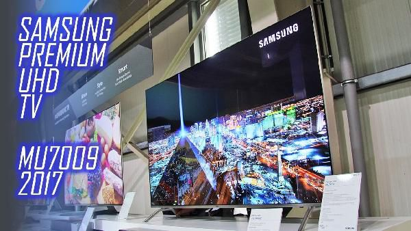 Samsung Ue75mu7009 75 Zoll 4k Fernseher Mit Hdr Für 1599 Statt