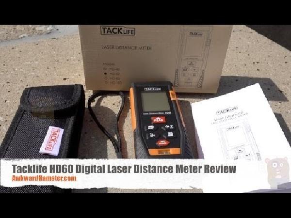 Tacklife Entfernungsmesser Kaufen : Tacklife hd 60 laser entfernungsmesser mit messbreich von 0 05~60m