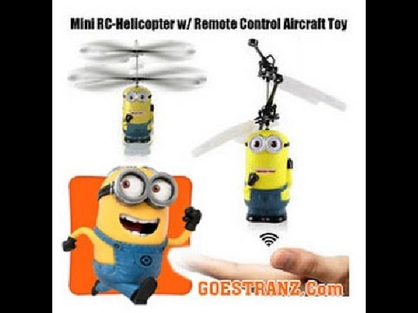 Minion Mini RC Helikopter für 9,77€   China Gadget!