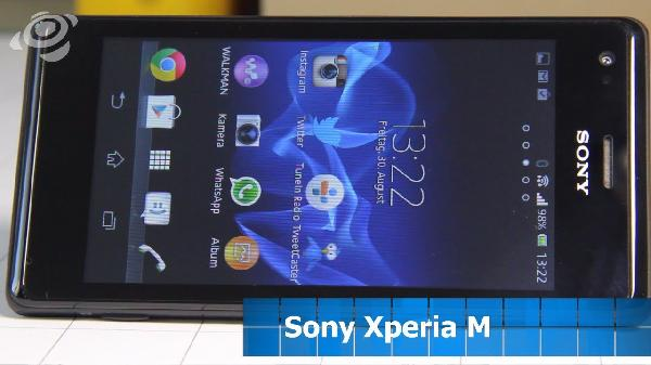 Sony Xperia M C1905 Android Smartphone für 66,40€ (statt 72€)