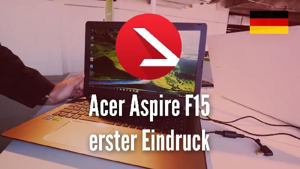 ACER Aspire F 15 (F5 573G 7953) Gaming Notebook für 777€