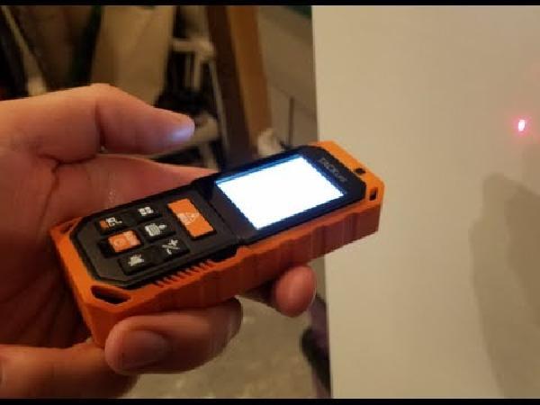 Tacklife s2 40 laser entfernungsmesser mit multifunktion inkl