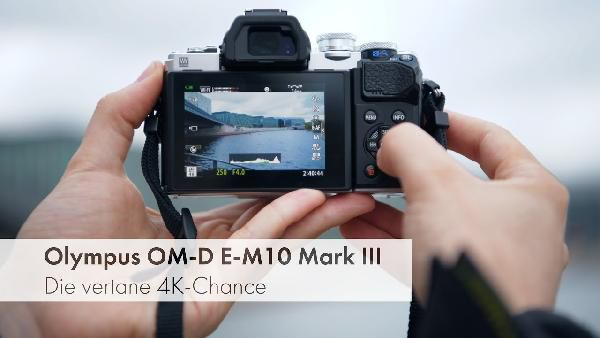 Olympus E‑M10 Mark III 14‑150mm Kit (MFT, 16.1MP, 3 Touchscreen, 4K Video @ 30fps, WLAN) für 599€ (statt 779€)