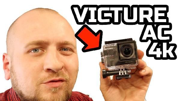 Victure AC 900 Action Cam 20MP WiFi Touch Screen UltraHD für 74,24€ (statt 99€)
