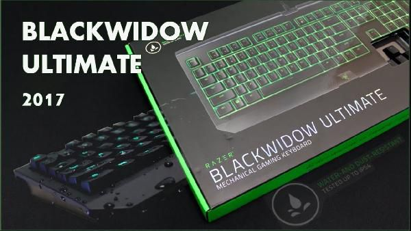 Razer BlackWidow Ultimate 2017   Gaming Tastatur für 66€ (statt 90€)