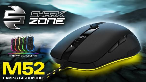 Sharkoon SHARK ZONE M52 Gaming Maus für 25€