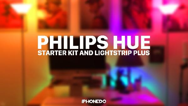 Philips Hue LightStrip Plus Starter Set + Google Home Mini für 99€ (statt 136€)