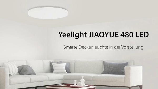 Xiaomi Yeelight Jiaoyue 480 - dimmbare LED-Deckenleuchte mit ...