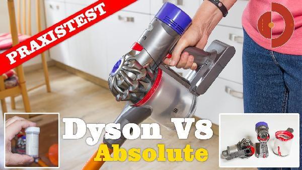 Dyson V8 Absolute Handstaubsauger Refurbished Für 299 Statt Neu