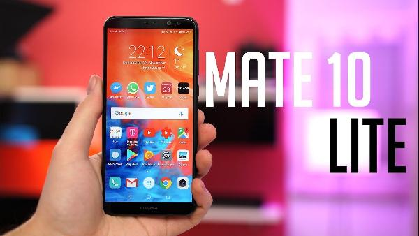 Media Markt Huawei Mega Weekend: z.B. HUAWEI Mate 10 lite 64 GB dual SIM für 275€