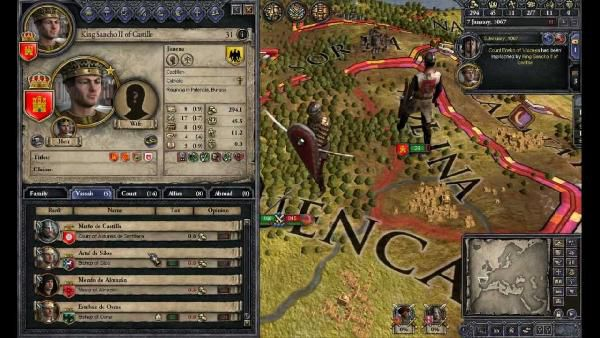 Steam: Crusader Kings II gratis (IMDb 8,4/10)