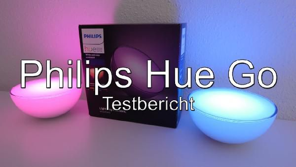 Philips Hue Go LED Leuchte, tragbares, kabelloses Licht