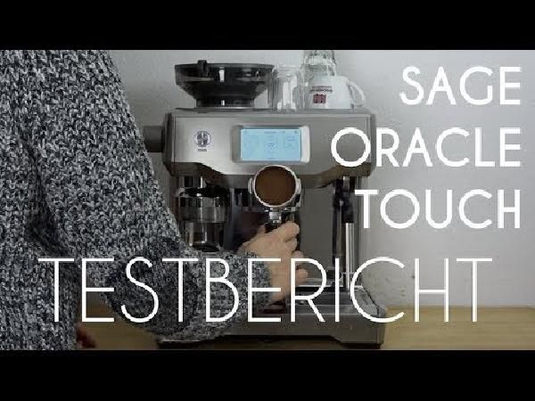 Sage The Oracle Touch Espressomaschine für 1.538€ (statt 1.950€)