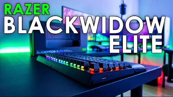 Razer BlackWidow Elite Green Switch Gaming Tastatur für 149€ (statt 180€)